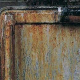 ガスレンジ回りの油汚れ