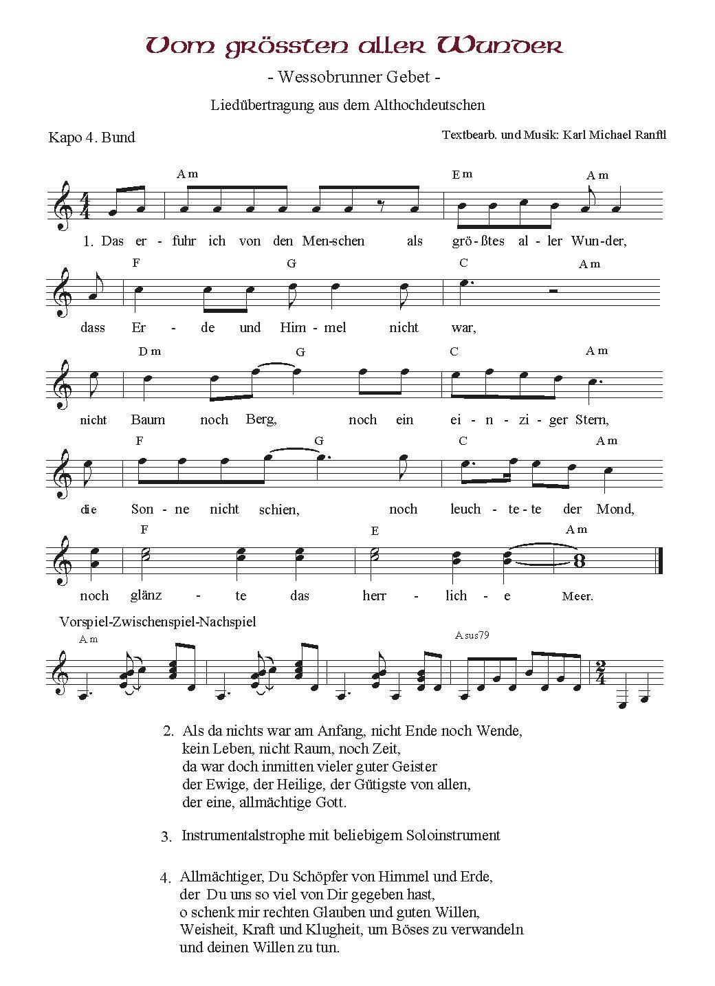 Wessobrunner Gebet - Booklet Seite 24