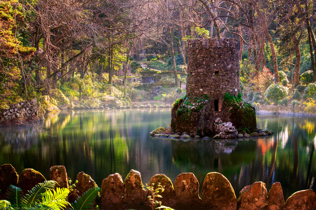 Jardin du palais de Peina