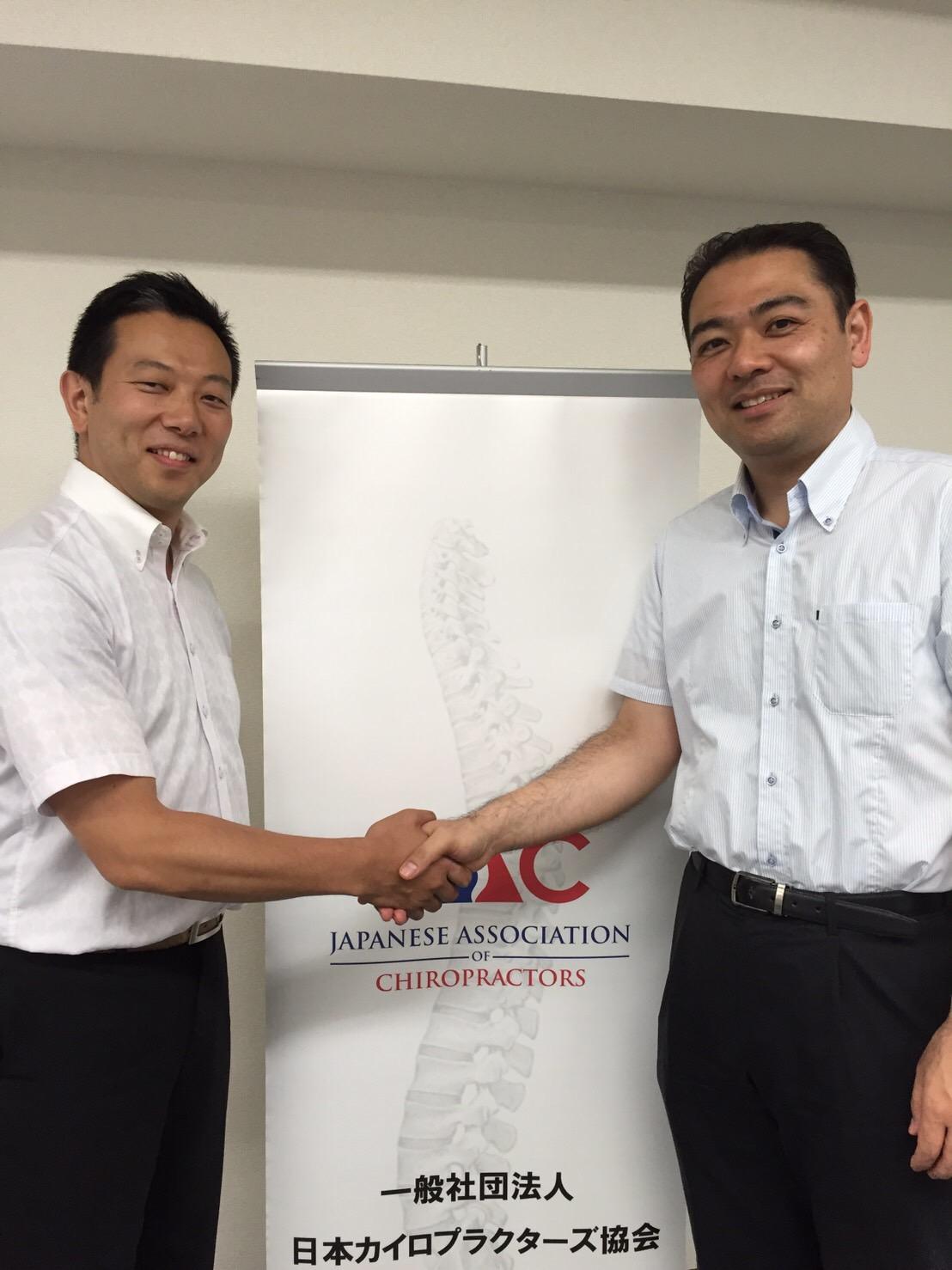 セミナー講師 竹谷内克彰先生と記念撮影