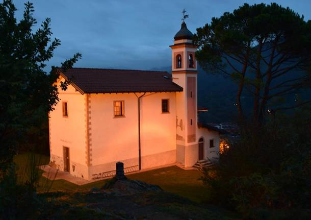 Chiesa di S. Martina Nascente - Colle S. Martino di Besano