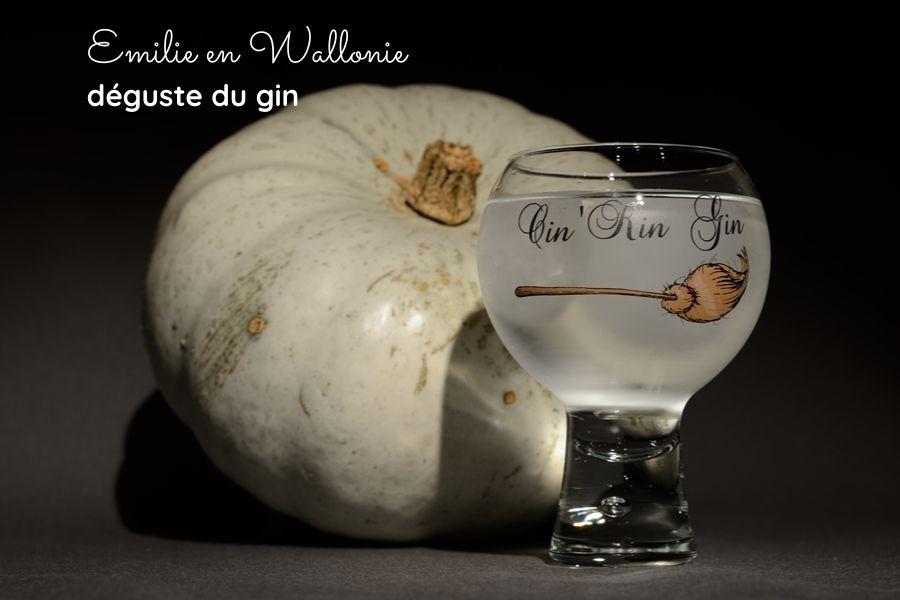 Déguster un gin wallon à base de potiron