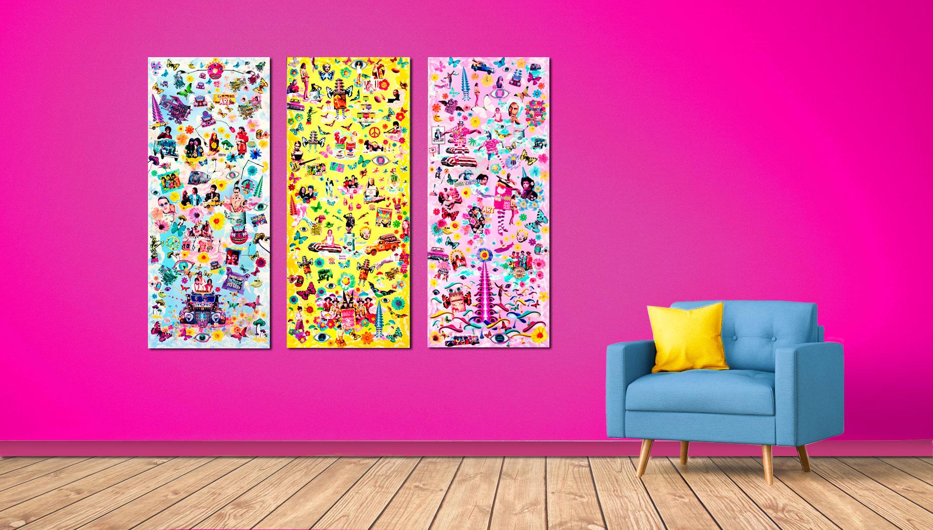 Pop Art Collagen Kunst Manuel Blond Pop Art Collagen Und Digital Art