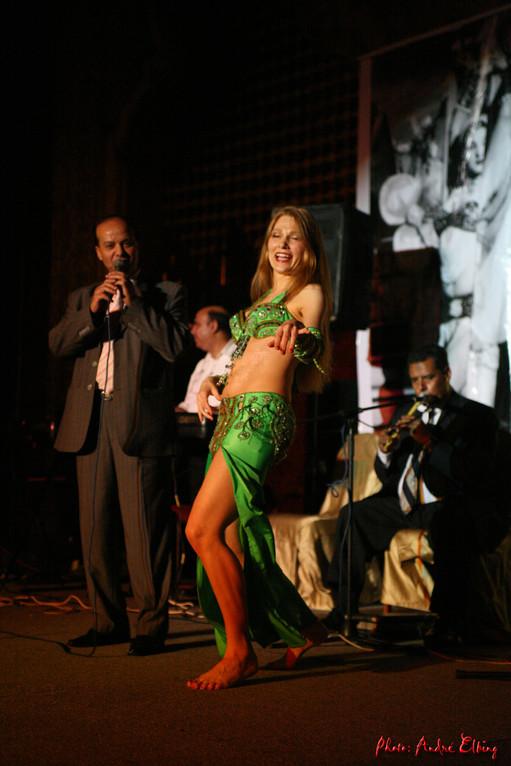 Bauchtanz Auftritt in Kairo, Bauchtänzerin Seiya aus Köln, NRW, Rheinland, Deutschland,