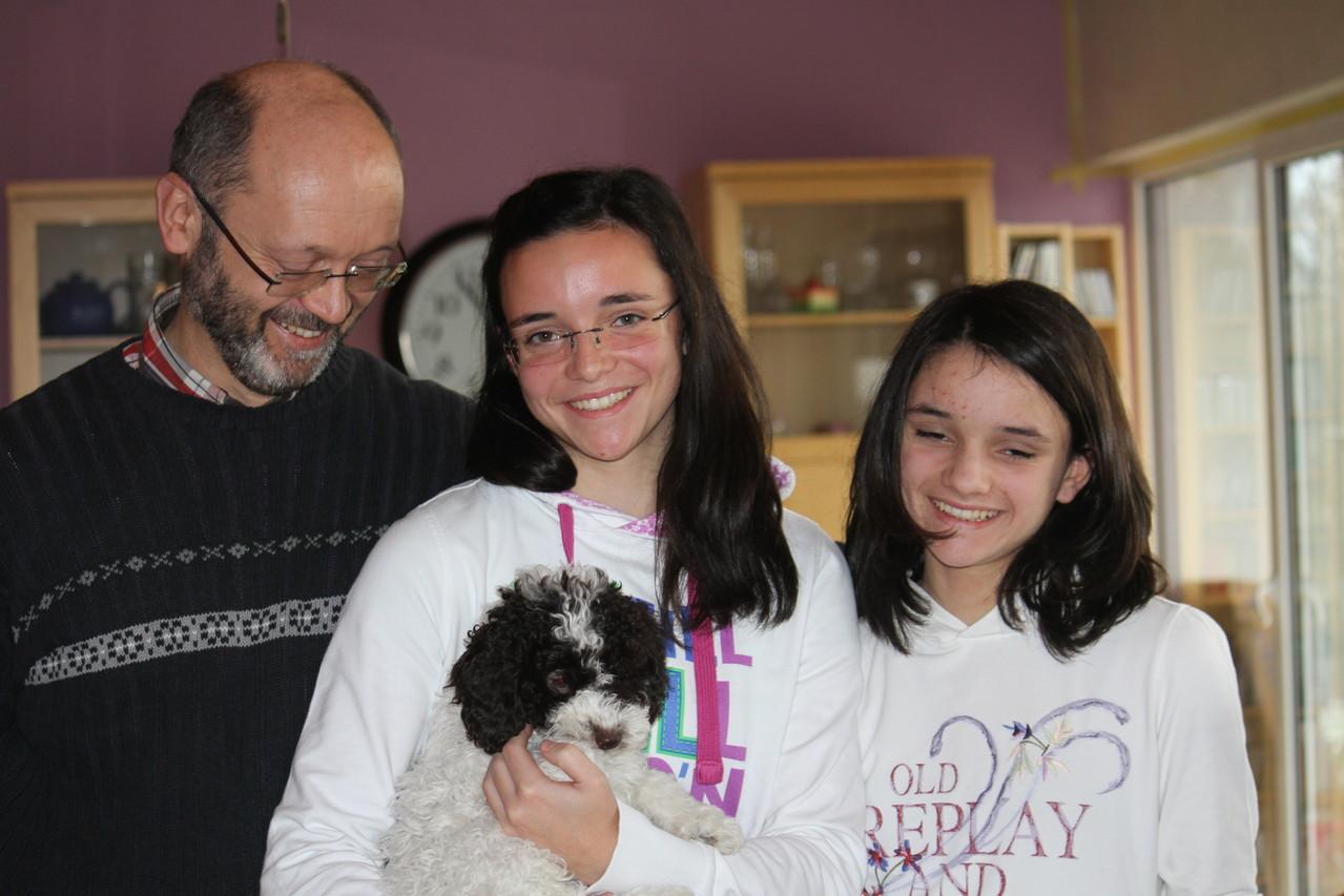 Carla wird Luxemburgerin und wird Anna und ihre Familie auf Trab halten!!