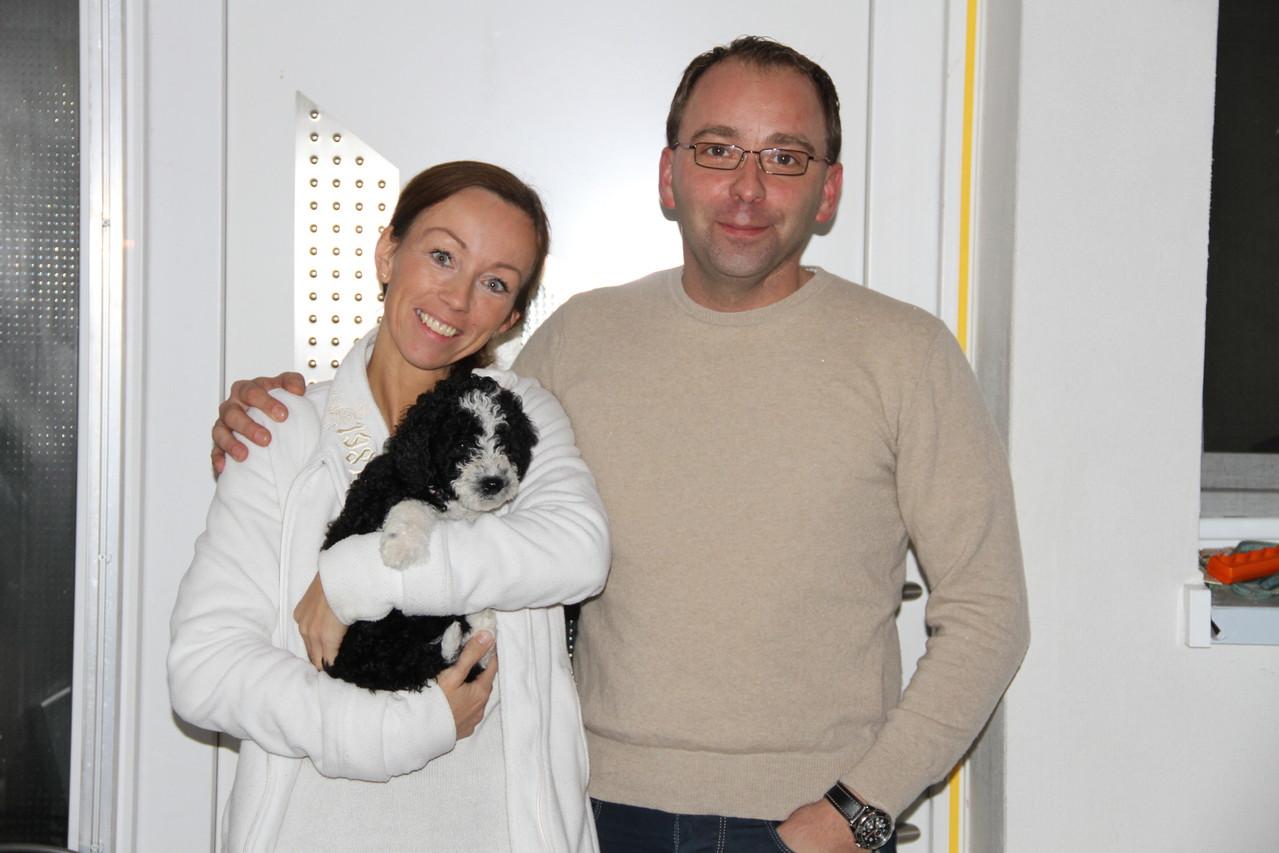 Chica wird in Wilhelmshaven für Freude sorgen, bei Vanessa und Rene und ihren 4 Kindern und schon einem Perro!