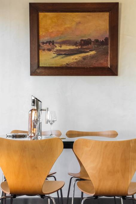 nice Centre-Luxe-Terrasse, salle-à-manger