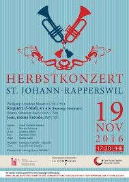 Konzert 19.November 2016: Mozart Requiem, Bach Jesu meine Freude