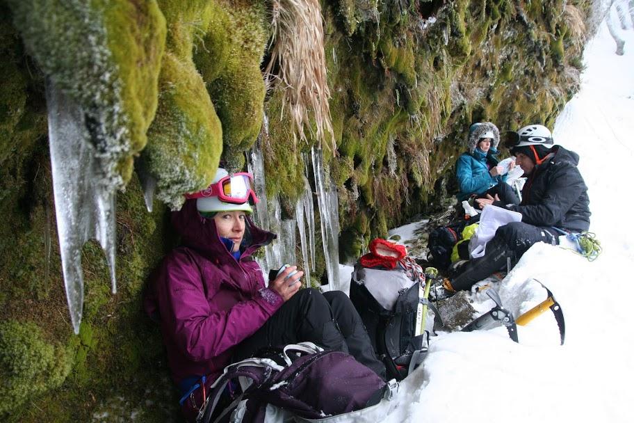Sortie alpinisme à la Mont-Dore-y-Cîmes