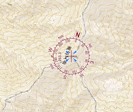 GPSの表示
