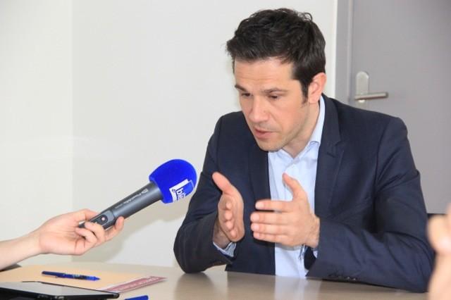"""""""L'idée était de montrer les visages des élus socialistes du groupe et de défendre nos points de vue."""" Guillaume Lissy"""