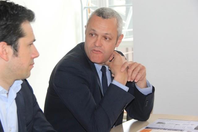 """""""Ce journal porte les valeurs, les objectifs et les propositions du groupe."""" Fabrice Hugelé"""