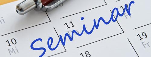 Seminare und Kurse chronologisch sortiert