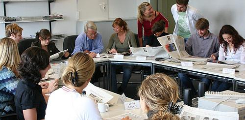 Ausbildung im Journalismus: Die Lehrredaktion