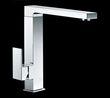 PSS1008SB Kitchen High Rise Square Sink Mixer