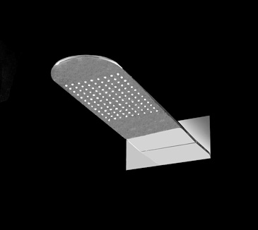 PRB002CP Bathroom Square Shower Head