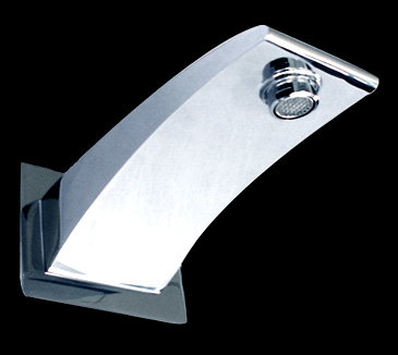 SP20 Bathroom Square Bath Spout
