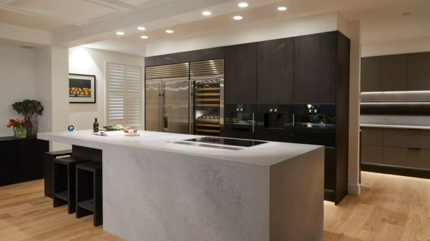 All kitchen appliances from a luxury kitchen