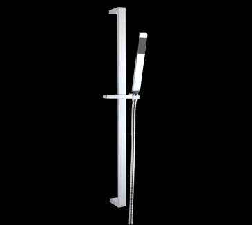PRB02 Bathroom Square Sliding Shower Set