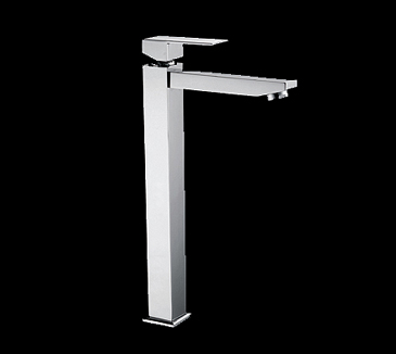 PSS2002SB Bathroom High Rise Square Basin Mixer