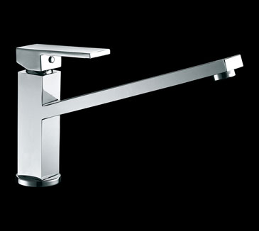 PSS1007SB Kitchen Swivel Square Sink Mixer