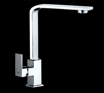 PSS1001SB Kitchen Square Sink Mixer