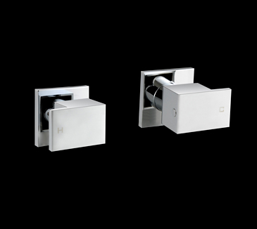 PQK90NZ02A Bathroom Square Wall Tap Set