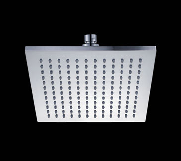 PRP10251 Bathroom Square Plastic Shower Head