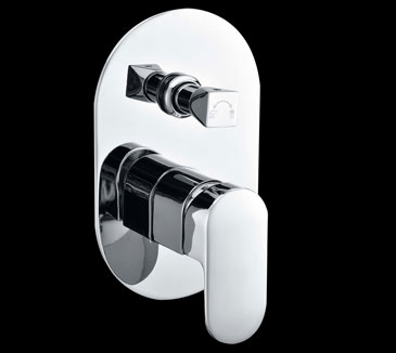 PE3001SB or PE3002SB Bathroom Shower Bath Mixer or with Diverter