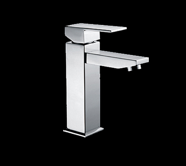PSS2001SB Bathroom Square Basin Mixer