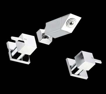 PQK90NZ05 Bathroom Square Shower Tap Set