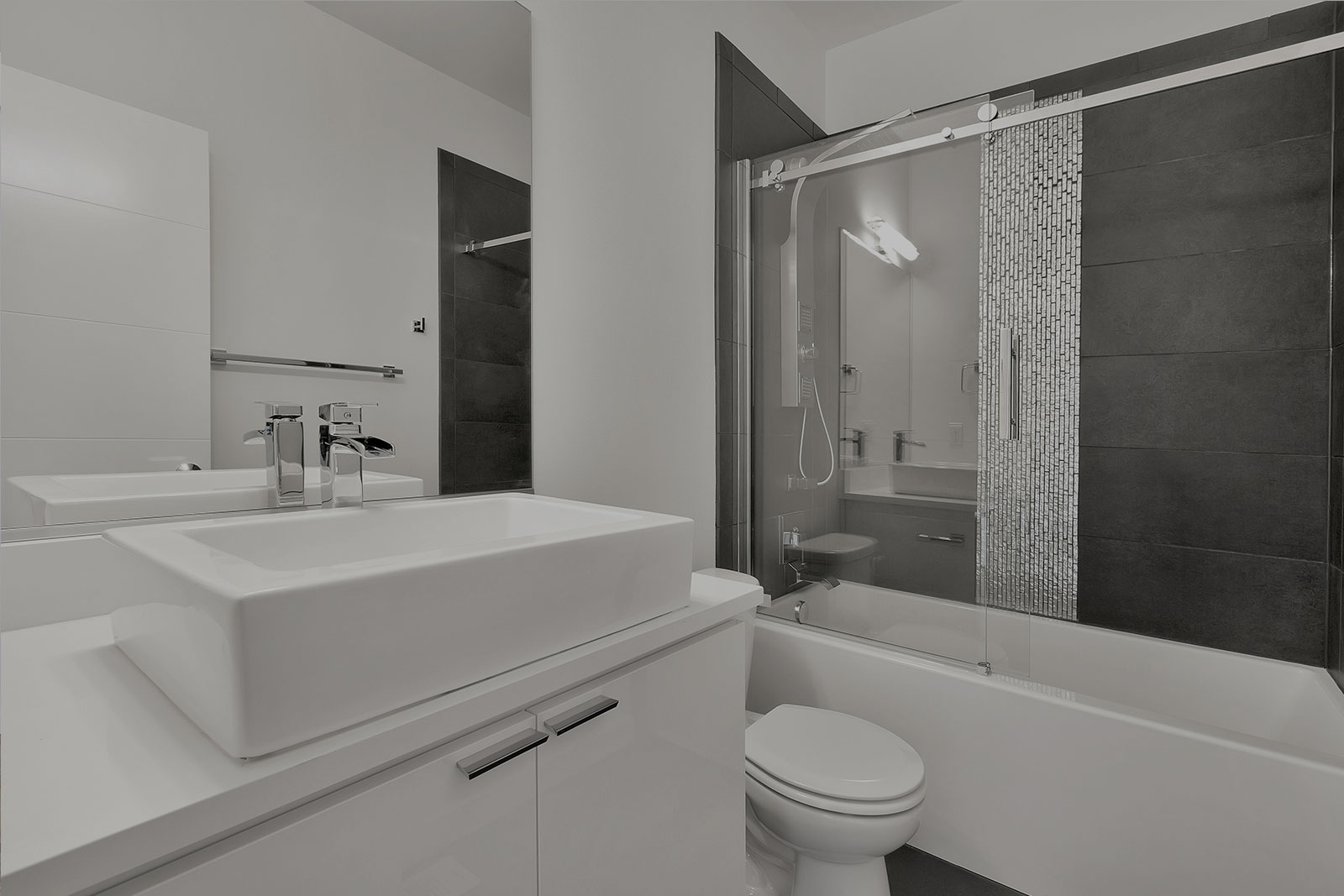 Newly renovated bathroom in Sydney