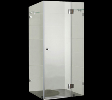 PLT-1001 Square Frameless Shower Screen