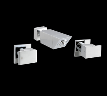 PQK90NZ05A Bathroom Square Shower Tap Set