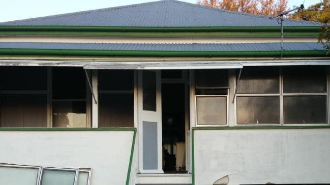 House pre renovation picture