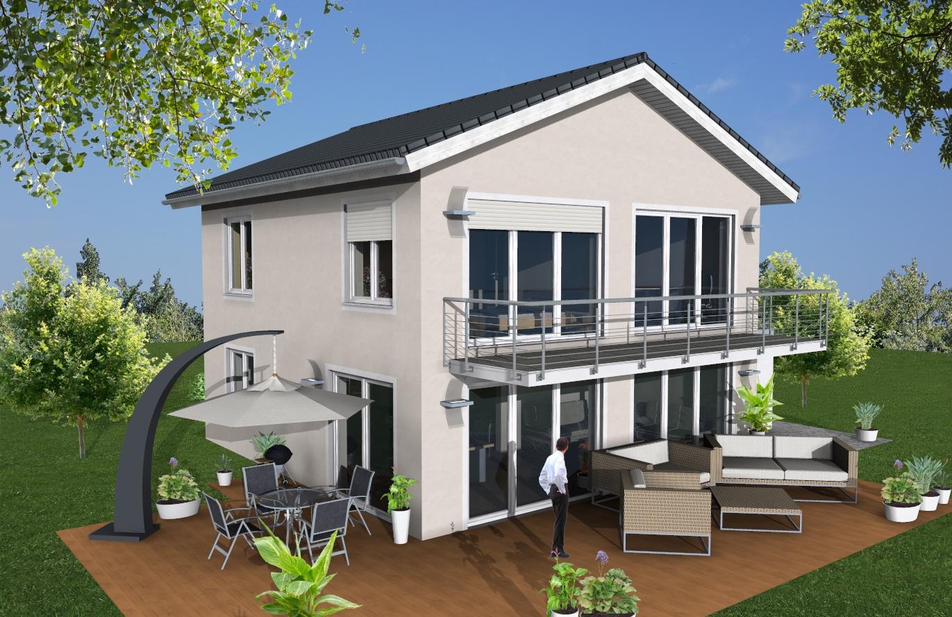 Einfamlienhaus Variante 4