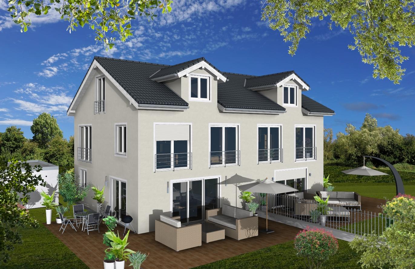 Doppelhaushälfte Variante 1