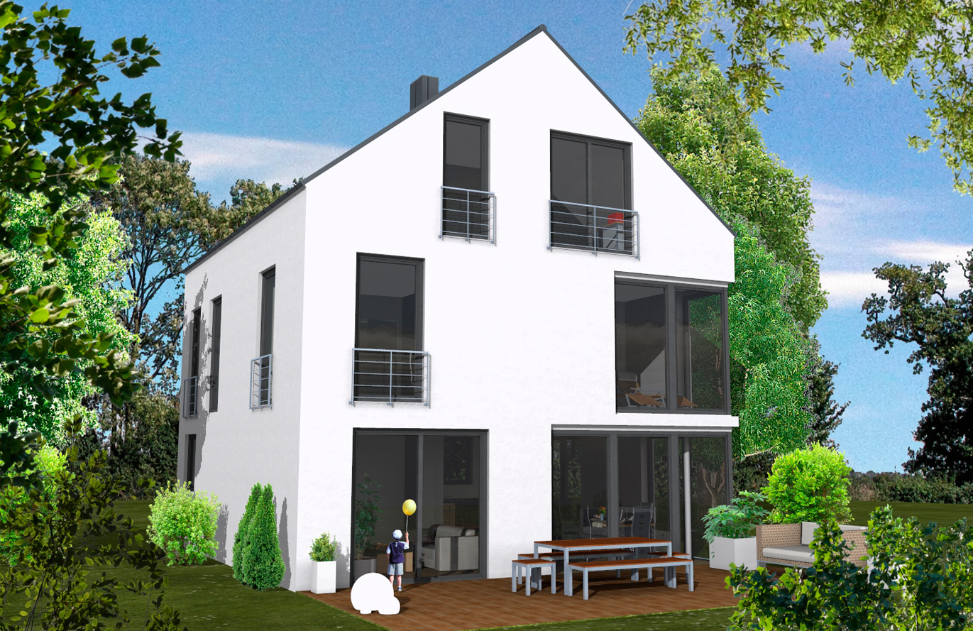 Einfamilienhaus Variante 6