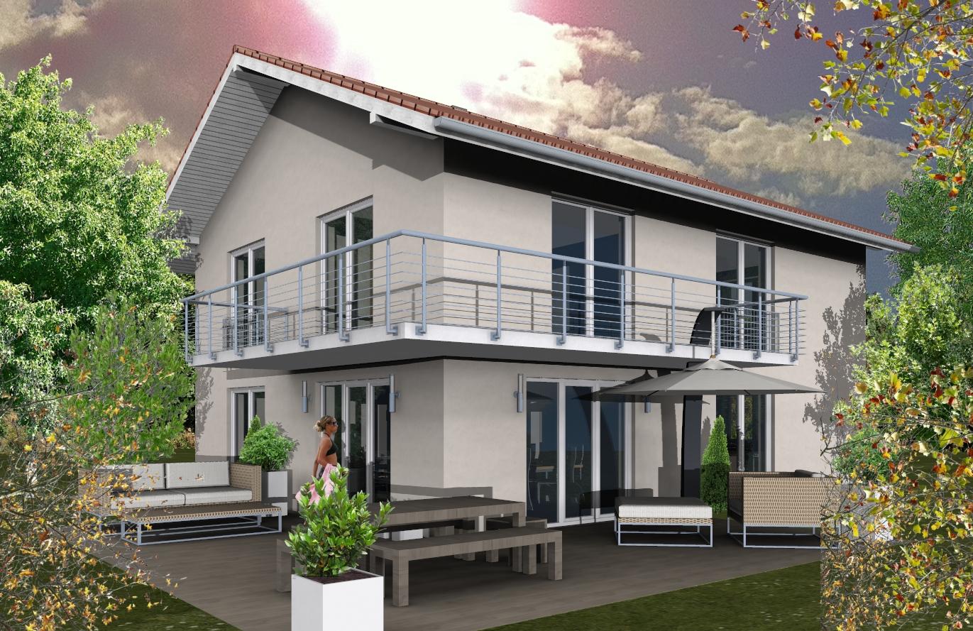 Einfamilienhaus Variante 8
