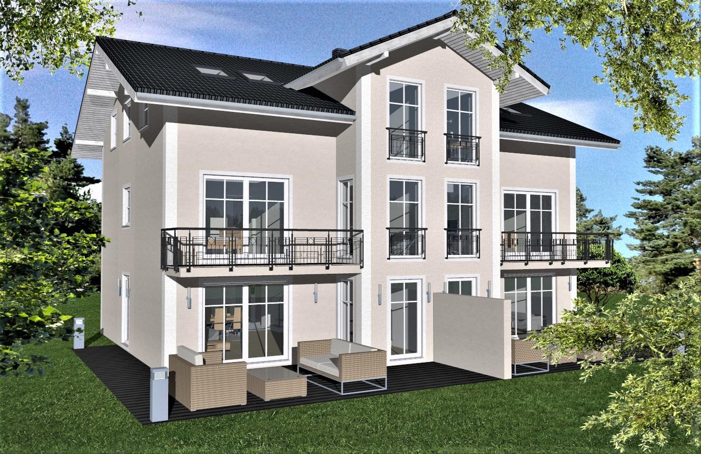 Doppelhaushälfte Variante 2