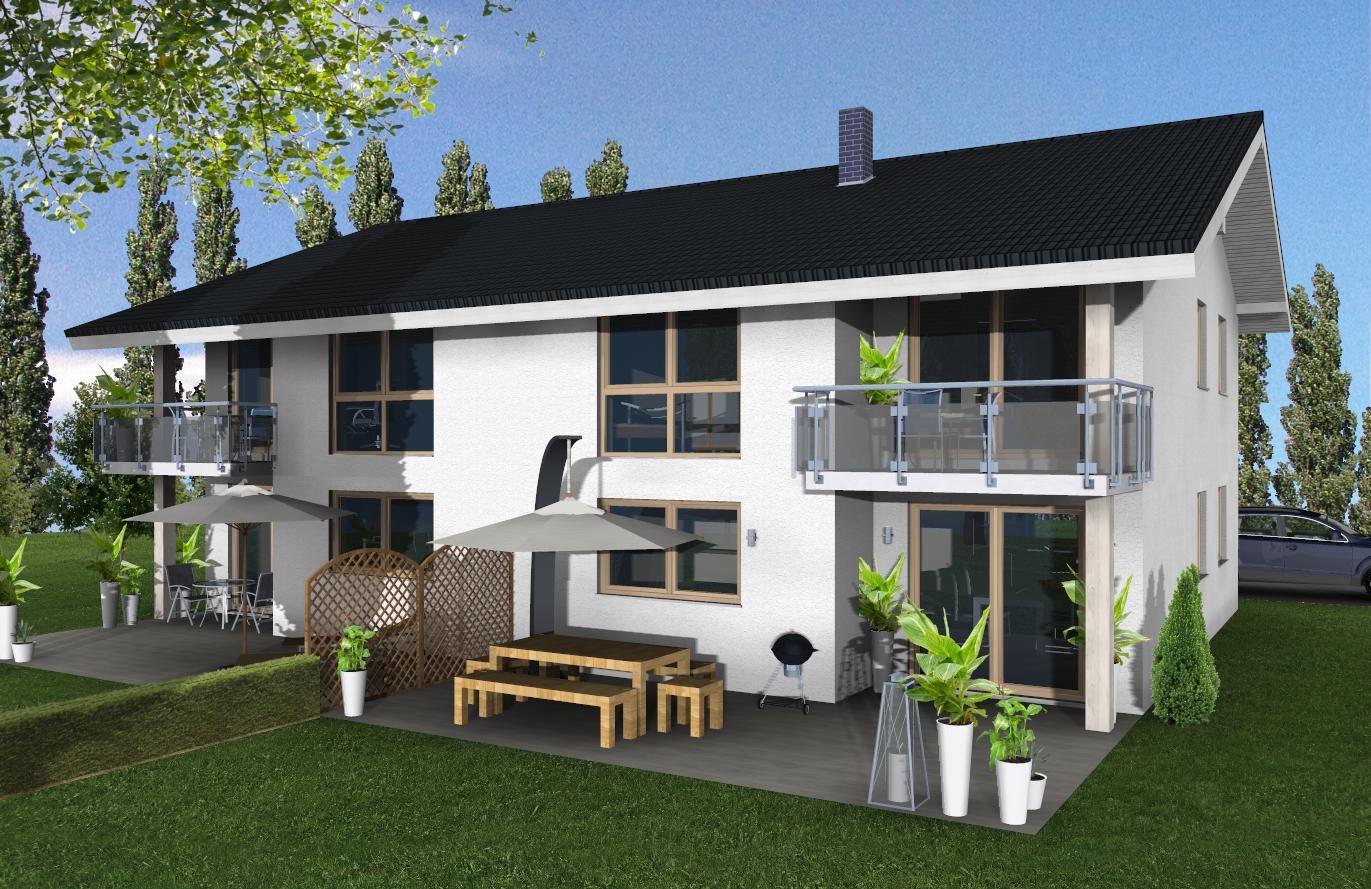 Doppelhaushälfte Variante 3