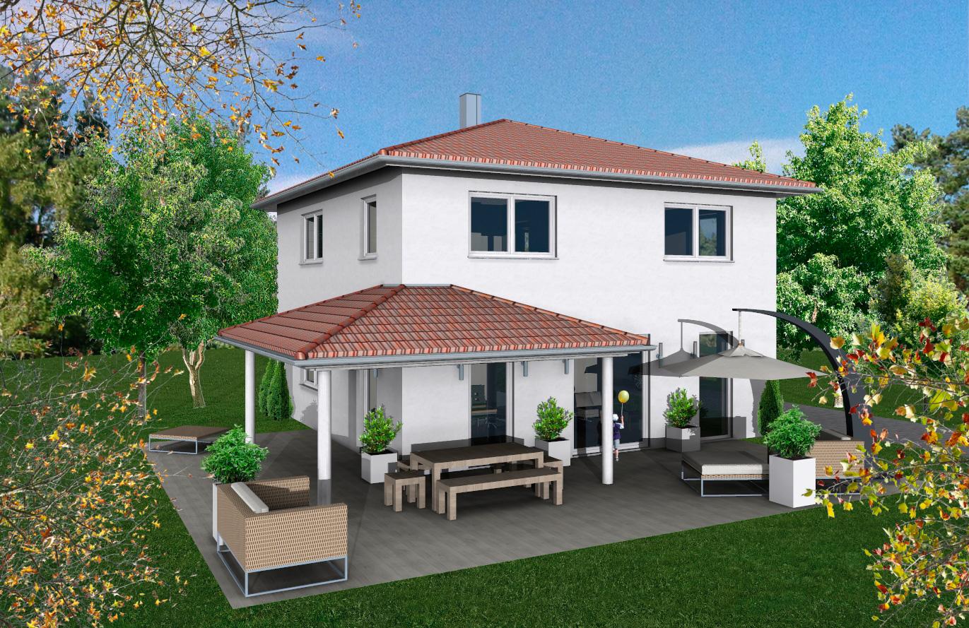 Einfamilienhaus Variante 7