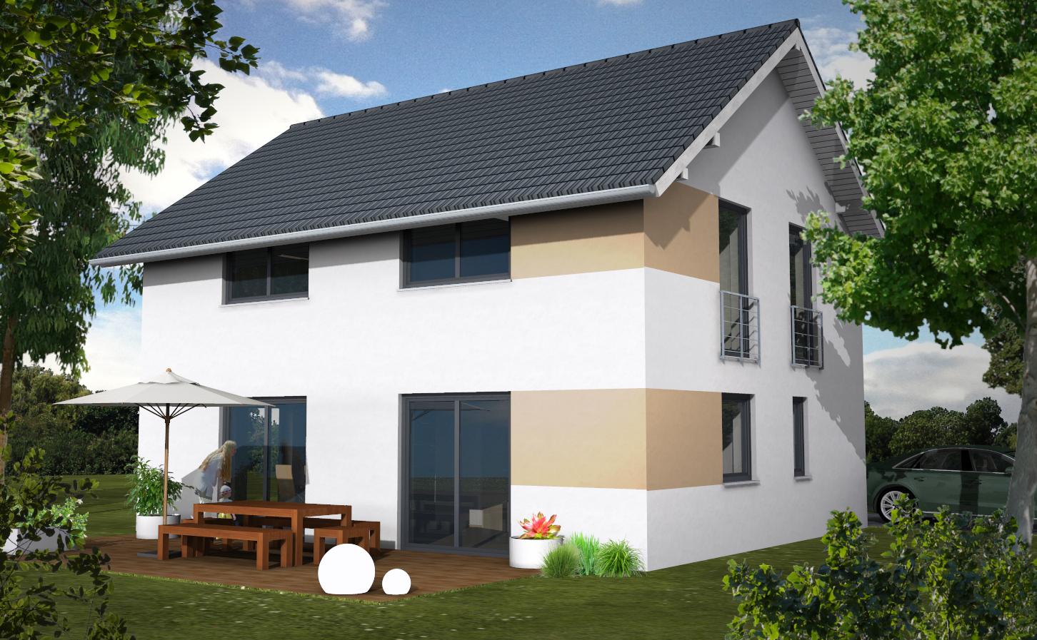Einfamlienhaus Variante 2