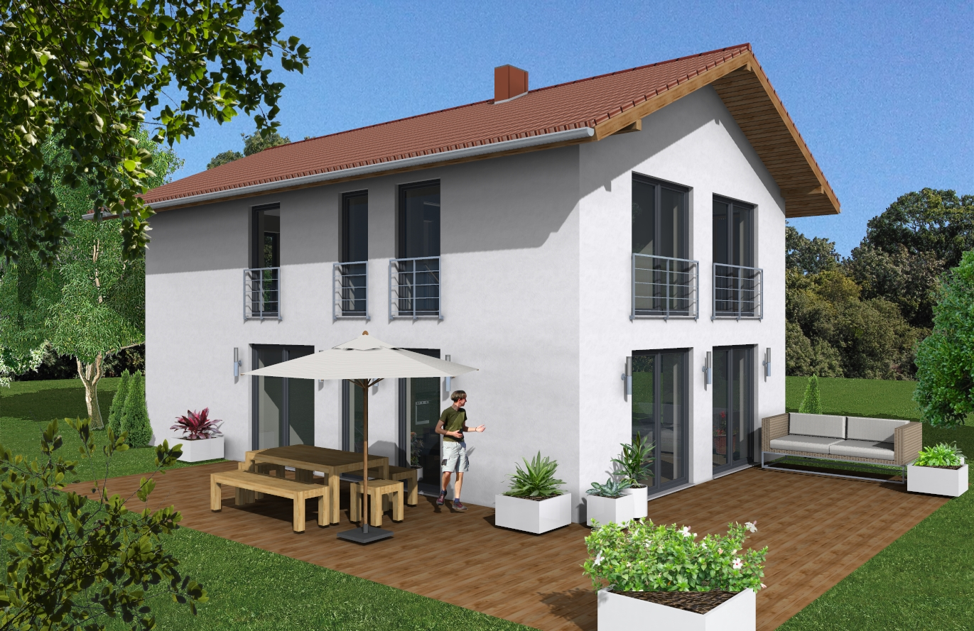 Einfamilienhaus Variante 1