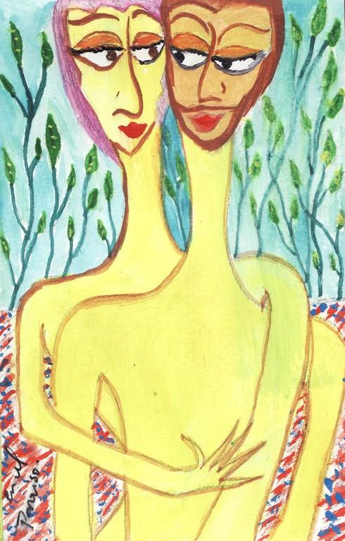 Adan y Eva I- Serie