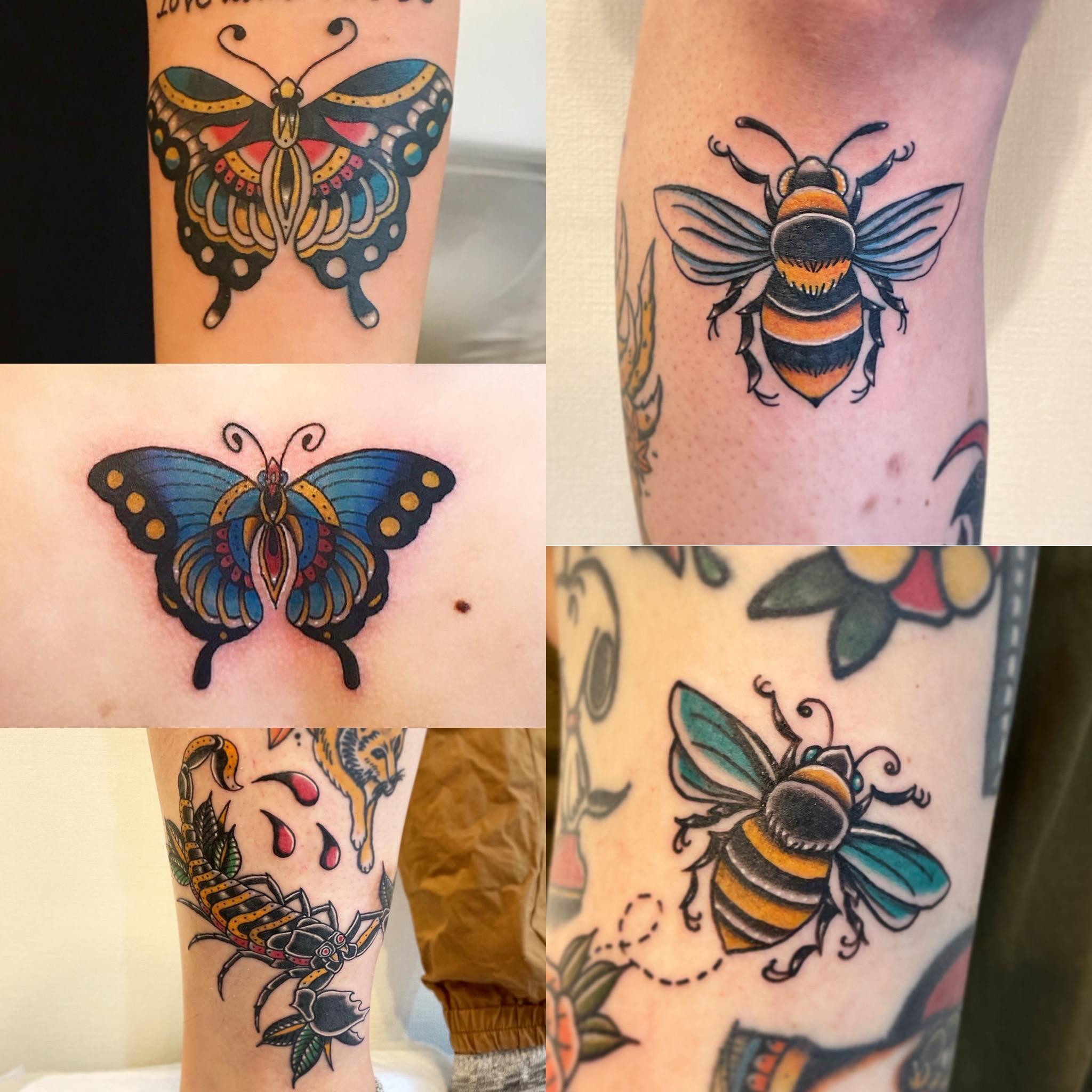 昆虫タトゥー集  《東京タトゥー》