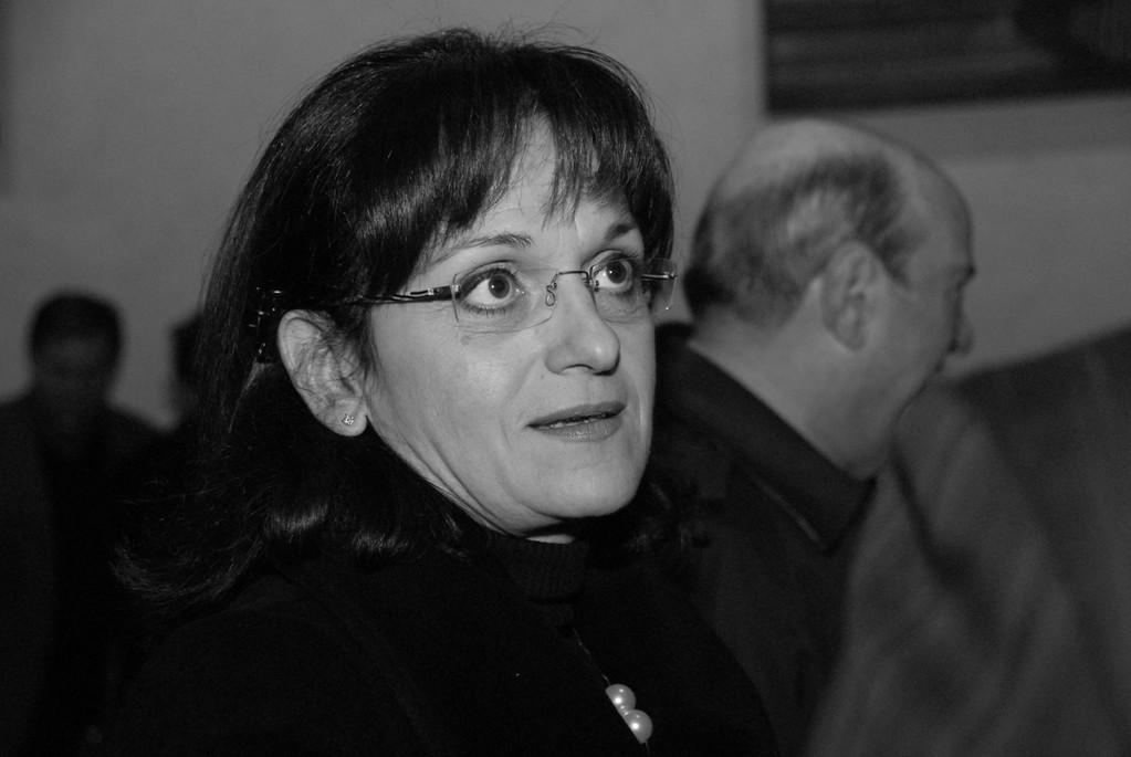 Cecilia Gasdia (tra il pubblico)