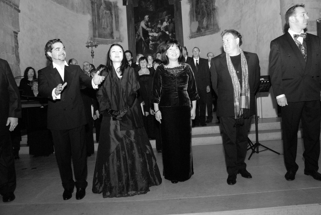 da sin: C.Ricci, F.Micarelli, J.Mi Lee, A.Ceron, G. Breda