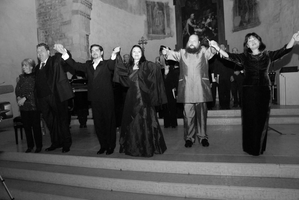 da sin: D.Candiotto, A.Mastromarino, C.Ricci, F.Micarelli, F.Silvestri, J.Mi Lee