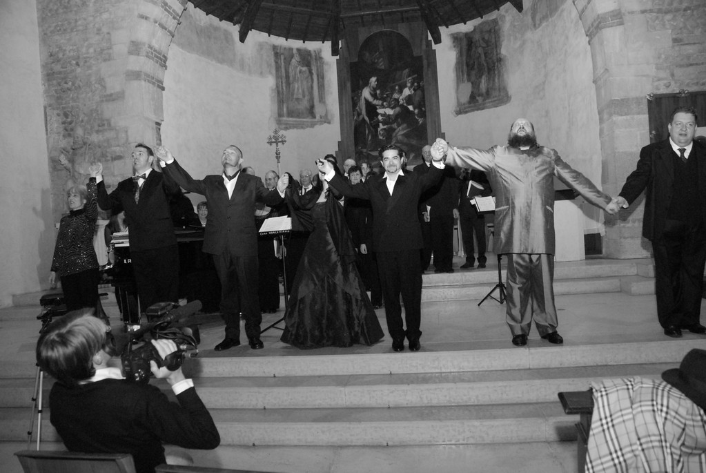 da sin: D.Candiotto, G.Breda, P.Buttol, F.Micarelli, C.Ricci, F.Silvestri, A.Mastromarino